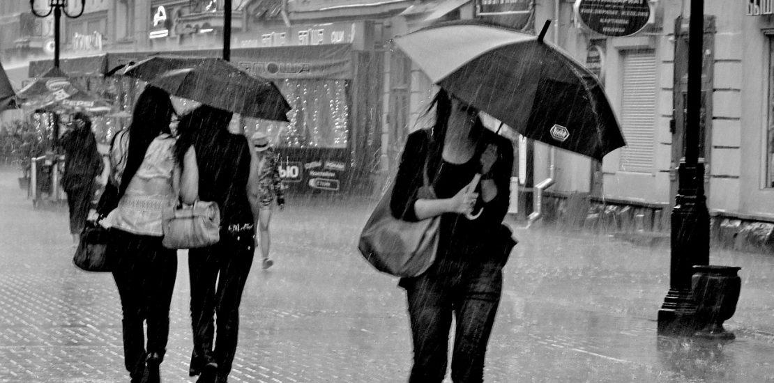 День прогулок под дождем