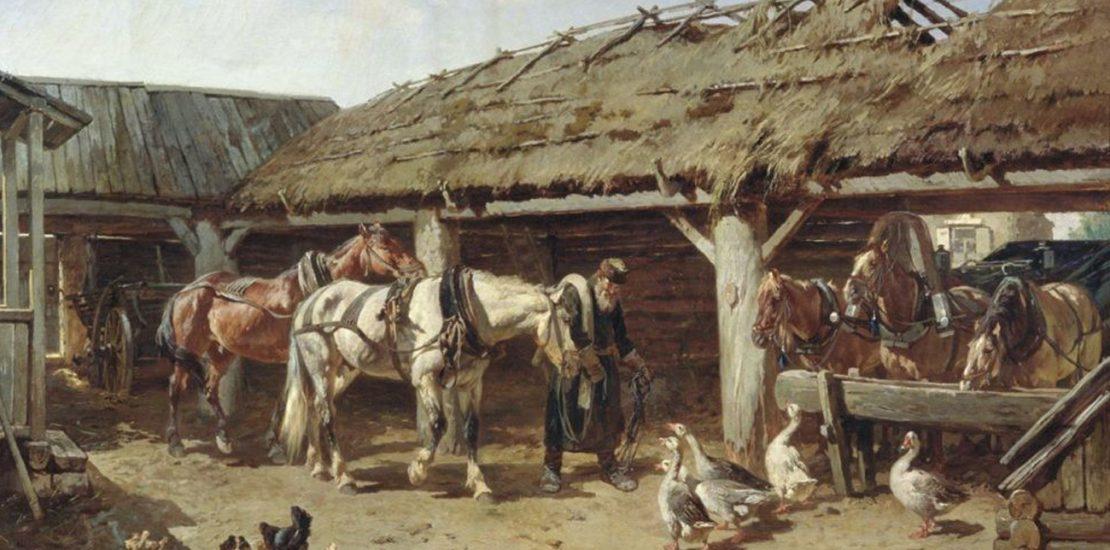 Первые постоялые дворы